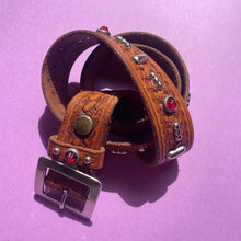 Load image into Gallery viewer, Vintage Studded Western Belt