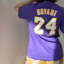 "Load image into Gallery viewer, Vintage Lakers ""Bryant"" Purple T-Shirt"