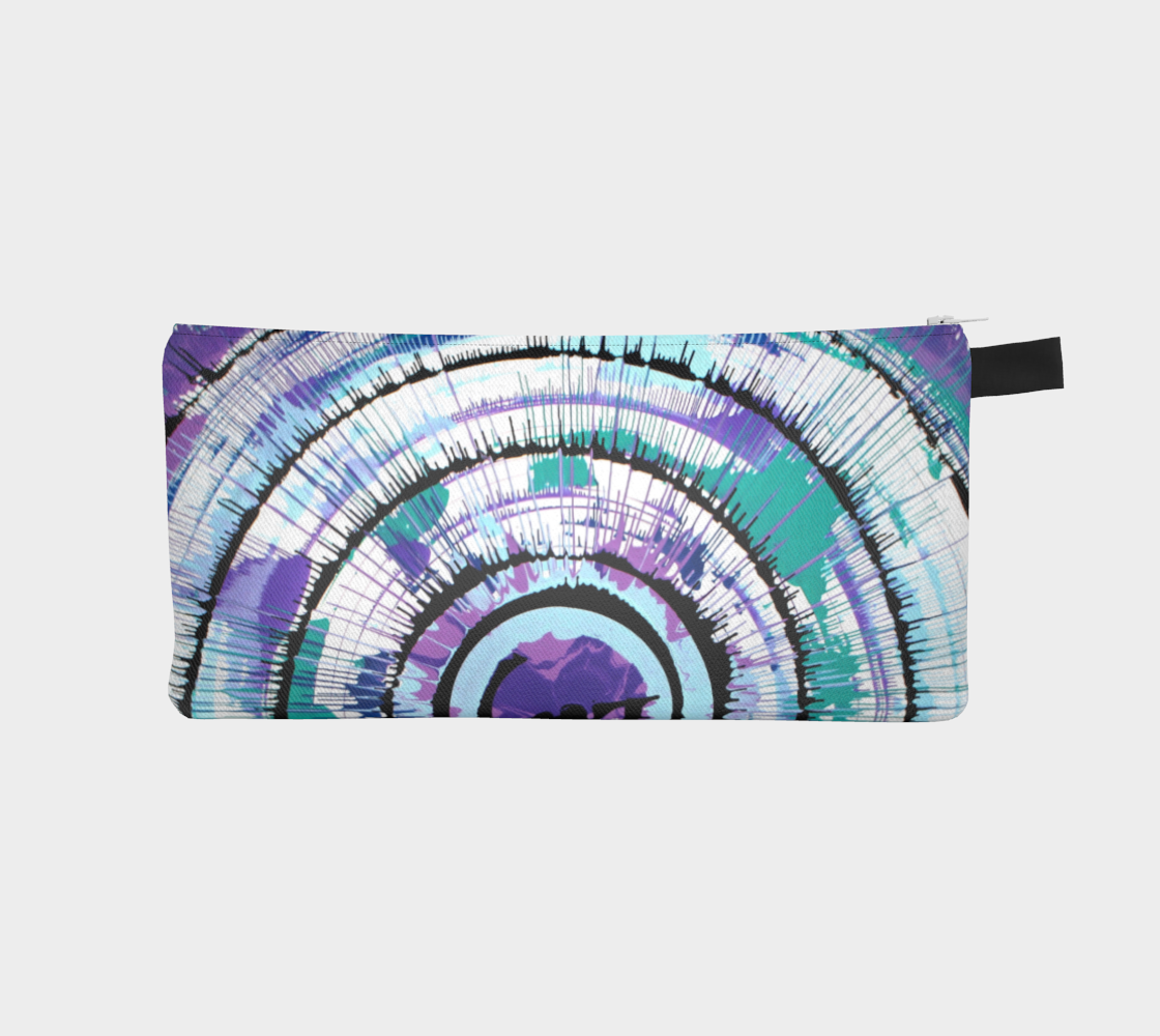 Cool Tones Spin Pencil Case