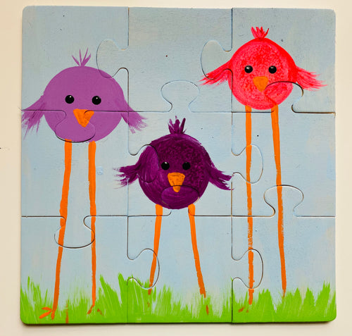 Three little birds- Puzzle kit