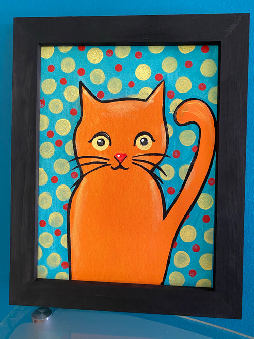 Kitty Dot Art Box