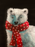 Fluffy Polar Bear Art Box