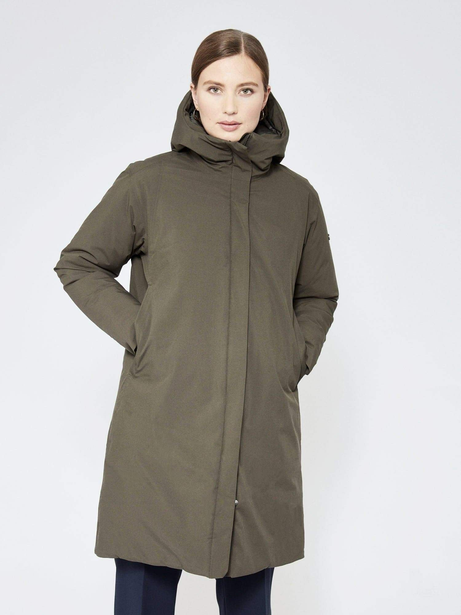 Scandinavian Edition Shield Dark Olive / XS