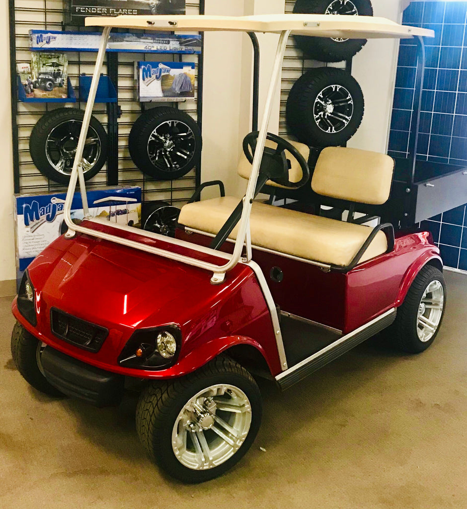 Custom built 48V Club Car DS