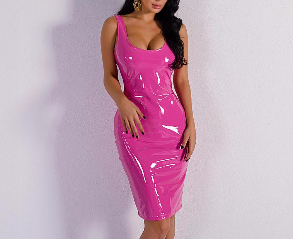 Latex Party Dress