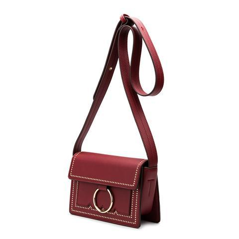 Cherie Burgundy Vegan Bag