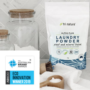 ABA100 Winner for Eco Innovation - Alpha Plus Laundry Powder