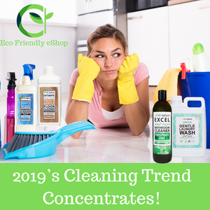 2019's Eco-Friendly Cleaning Trend - Concentrates!