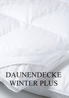 DAUNEN BETTDECKE WINTER PLUS