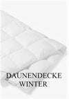 DAUNEN BETTDECKE WINTER
