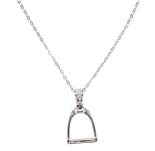 Stirrups necklace