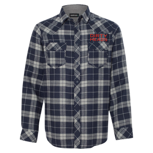 Stacked Logo Flannel