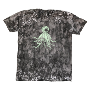 CLASSIC OCTOPUS TEE - ACID WASHED, GLOW IN THE DARK