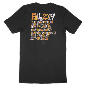 Fall Tour 2019 Tee (Black)