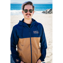 Load image into Gallery viewer, Octopus Windbreaker - Navy/Copper