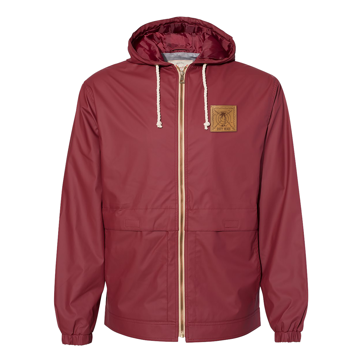 LIMITED EDITION: Earthquake Weather Hooded Rain Jacket