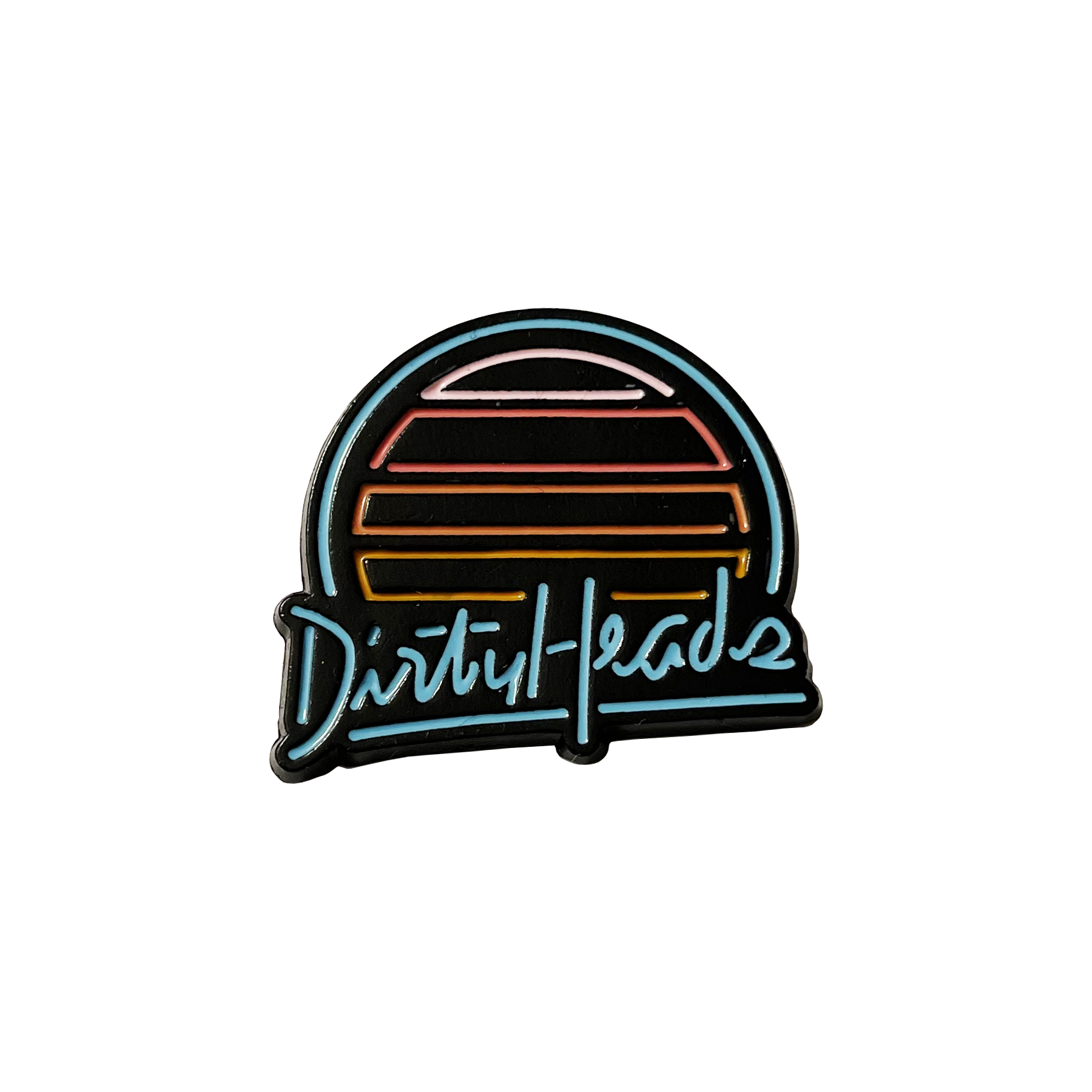 Neon Sunset Enamel Pin