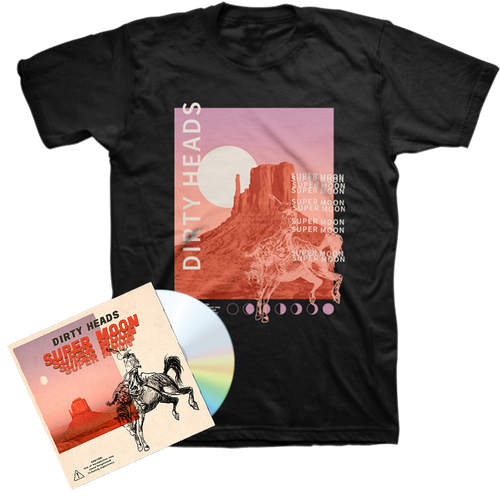 Super Moon CD + T-Shirt Bundle