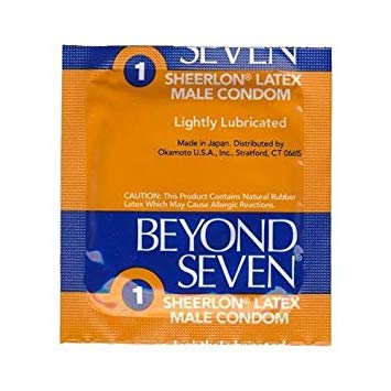 Beyond Seven Sheerlon Condoms