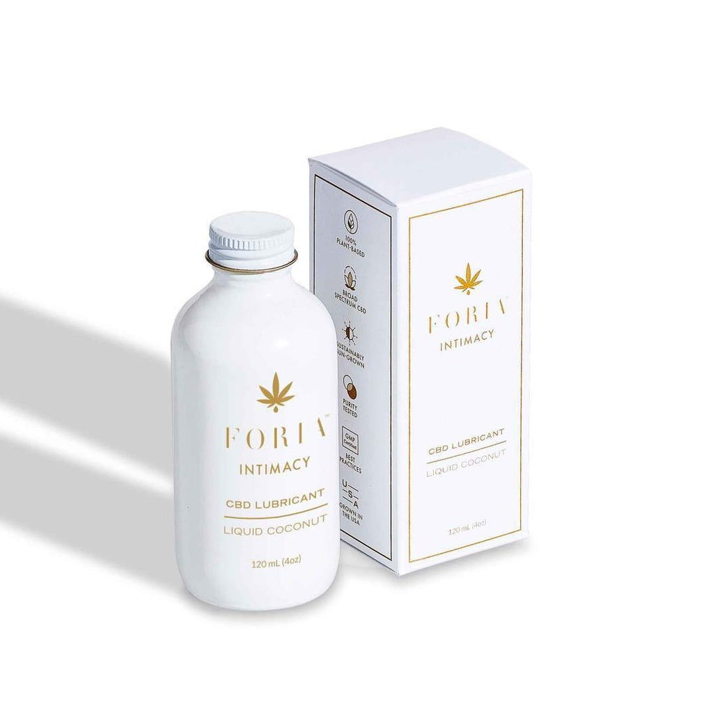 Foria Intimacy CBD Coconut Oil Lubricant