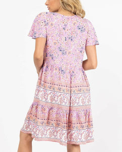 Ebby And I Vintage Dress FLORAL