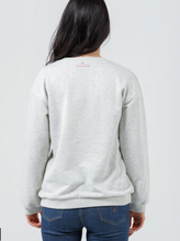 Load image into Gallery viewer, Brave + True Harley Exhuasted Sweatshirt GREY MARLE