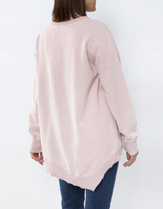 3rd Story Newhaven Sweater MARSHMALLOW