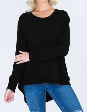3rd Story Newhaven Sweater BLACK