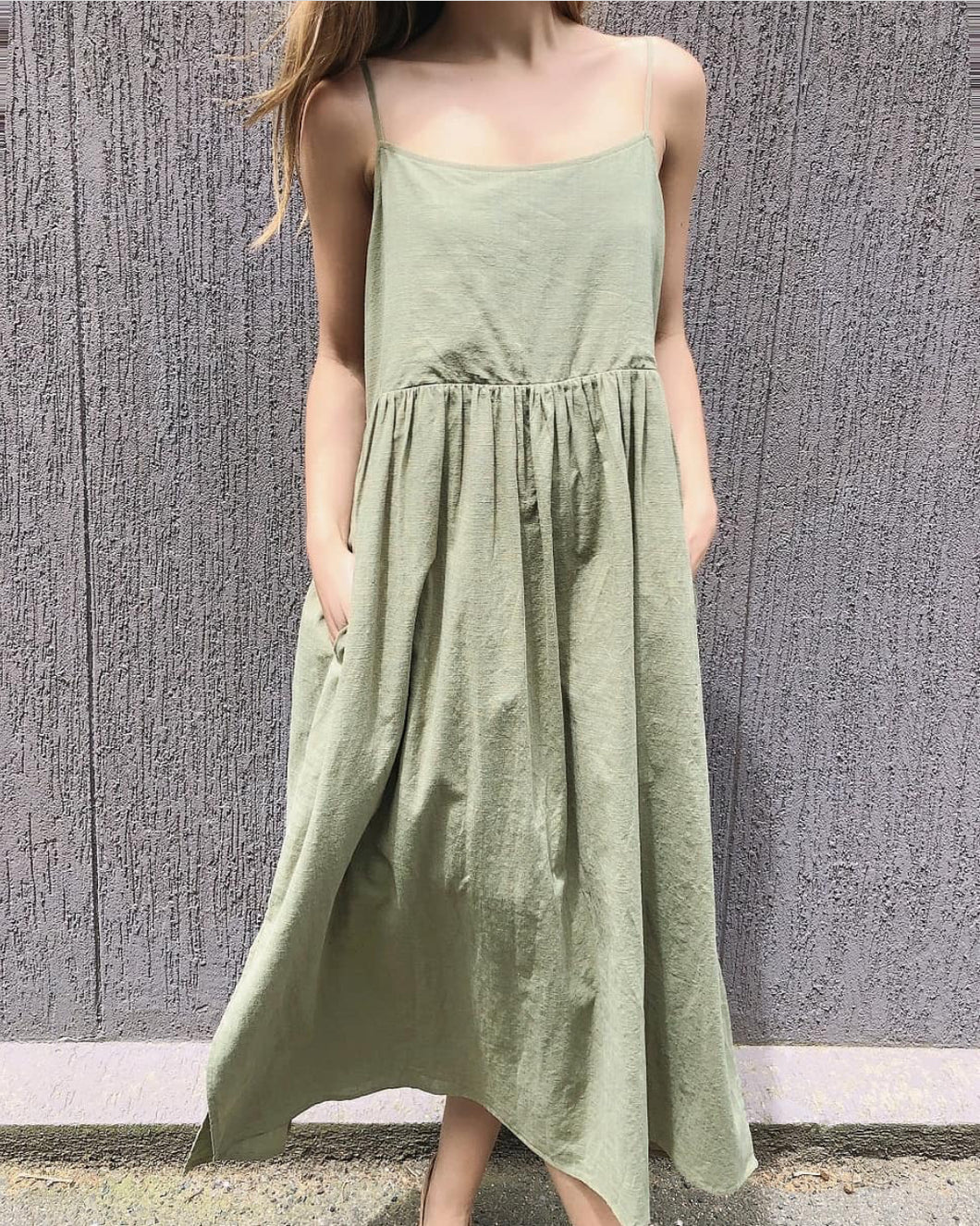 One Two Melbourne Maxi KHAKI
