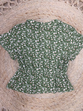 Load image into Gallery viewer, Sunny Girl Print Shirt GREEN