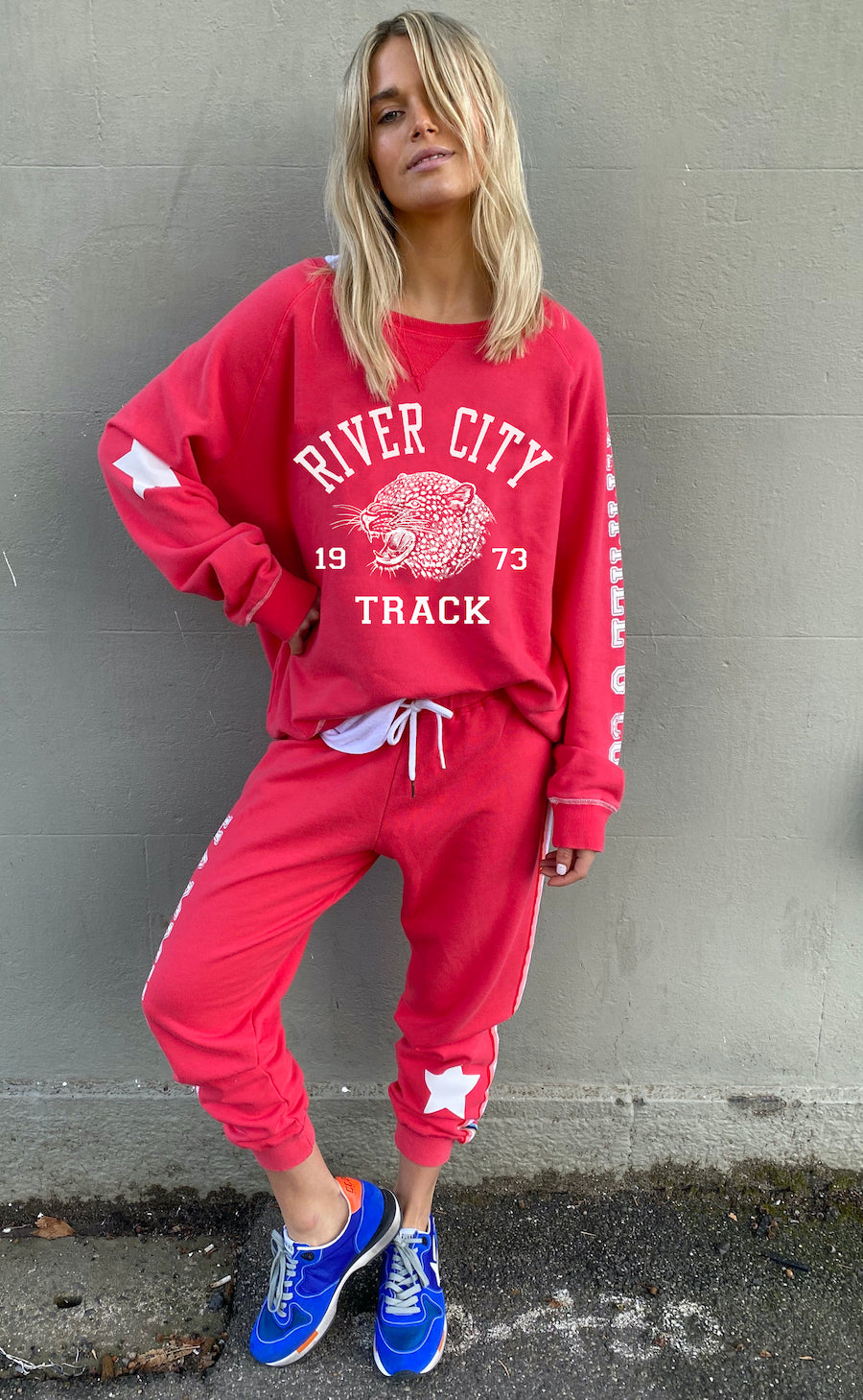Hammill + Co River City Sweat RED