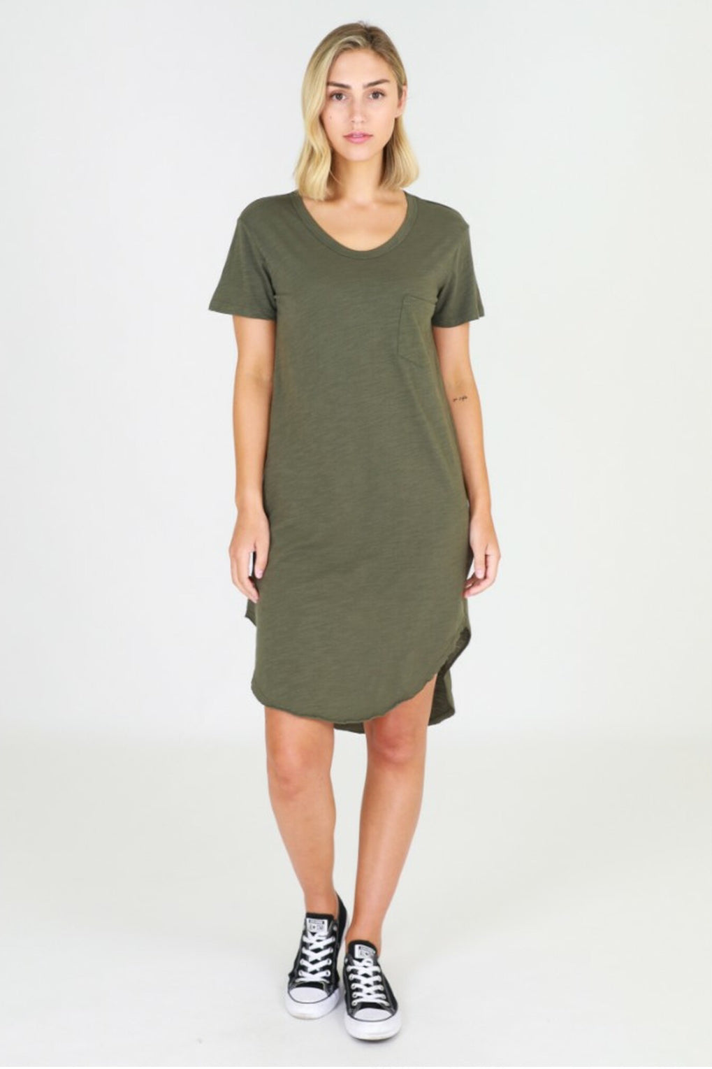 3rd Story Milly Dress KHAKI