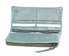 Load image into Gallery viewer, FULL GRAIN Bay Wallet STEEL GREY