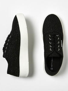 Betty Basics Traveler Sneaker BLK LUREX