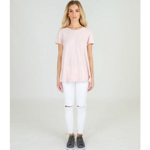 3rd Story Brighton S/S Tee Blush Marle