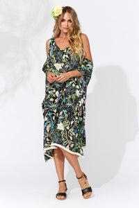 Haven Capri Kaftan Black