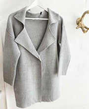 Load image into Gallery viewer, Ebby And I Cardigan GREY