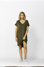 Load image into Gallery viewer, Betty Basics Arizona Dress OLIVE
