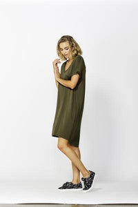 Betty Basics Arizona Dress OLIVE