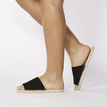 Load image into Gallery viewer, Betty Basics Gypsy Slides BLACK