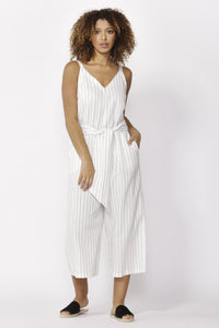 Betty Basics Hendrick Jumpsuit PINSTRIPE