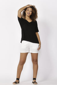 Betty Basics Lisbon Tee BLACK
