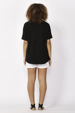 Load image into Gallery viewer, Betty Basics Lisbon Tee BLACK