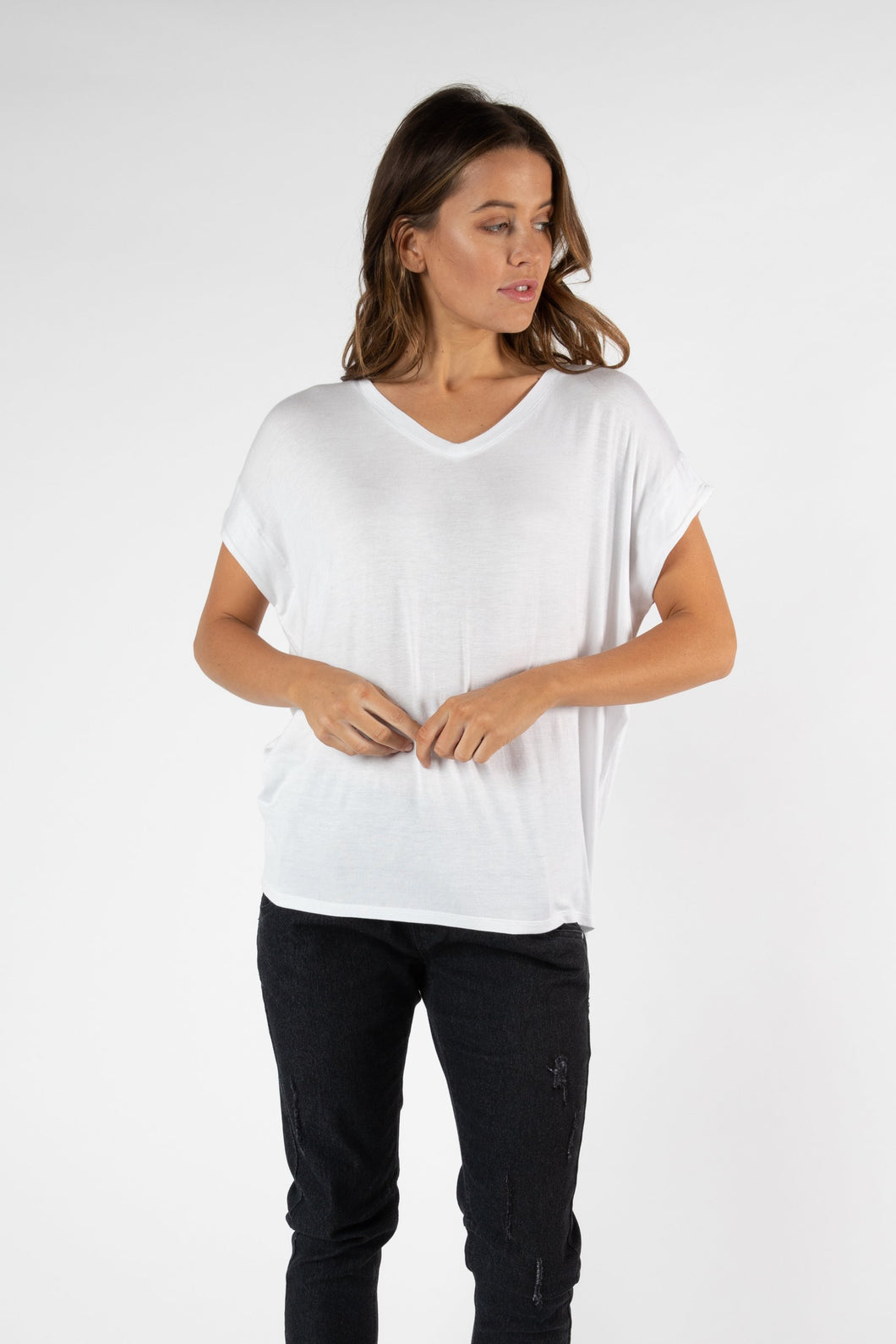 Betty Basics Toledo Tee WHITE