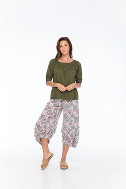 Boom Shankar Bliss Top - Juniper KHAKI