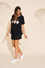 Load image into Gallery viewer, Eb & Ive Sable Tshirt BLACK