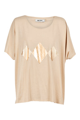 Eb & Ive Sable Tshirt CLAY