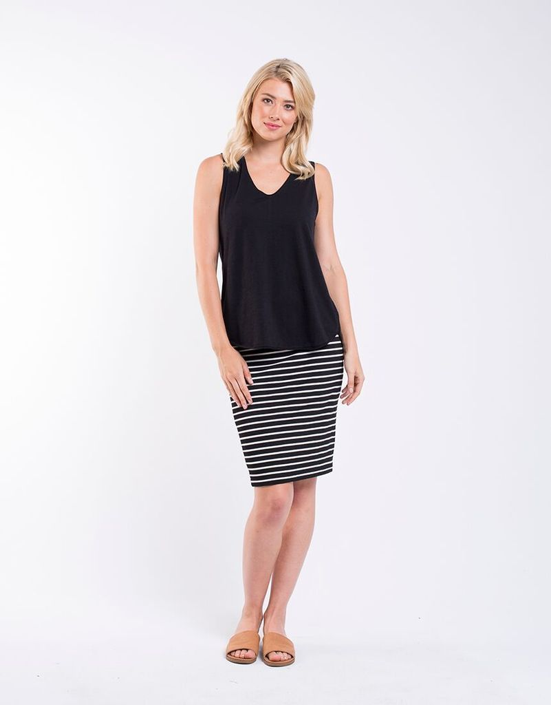 Foxwood Balthazar Tank BLACK