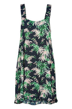 Load image into Gallery viewer, Haven Sardinia Tank Dress INDIGO PALM