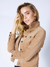 Load image into Gallery viewer, Betty Basics Lewis Corduroy Jacket TAN